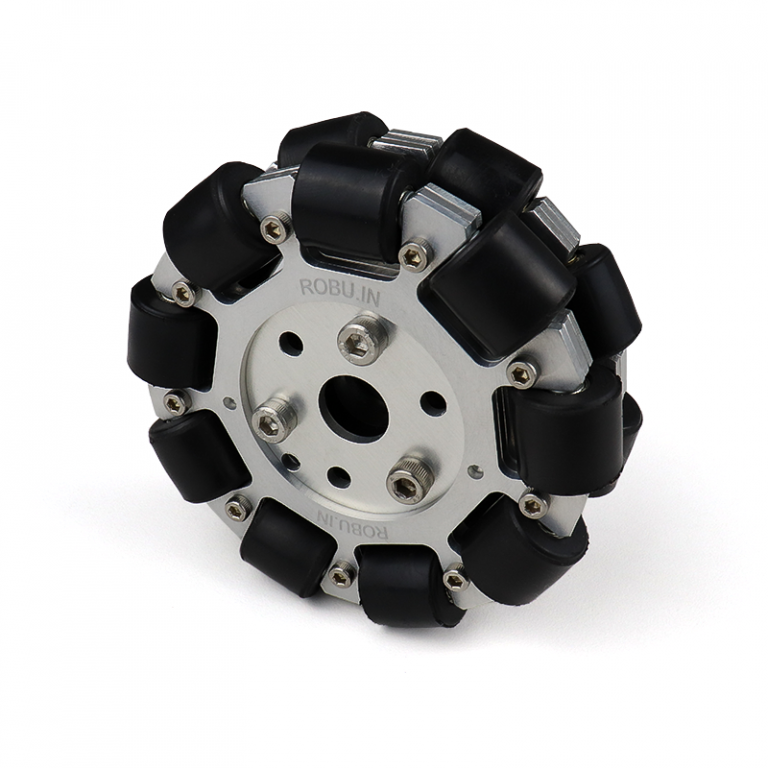 EasyMech 100mm Double Aluminium Omni Wheel (BEARING TYPE ROLLER)