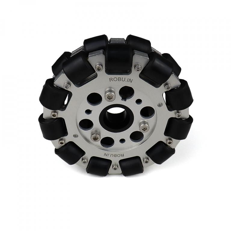 EasyMech 127mm Double Aluminium Omni Wheel (BEARING TYPE ROLLER)