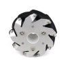 100mm Aluminium Mecanum wheels (Bearing type rollers) Right