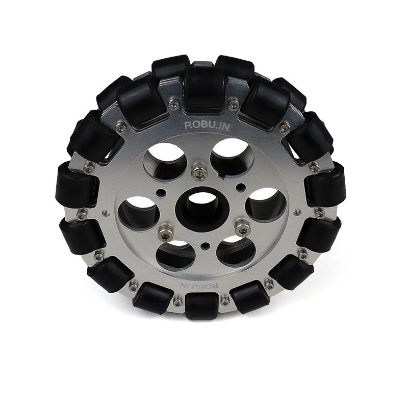 EasyMech 152mm Double Aluminium Omni Wheel Basic (Bush Type Roller)