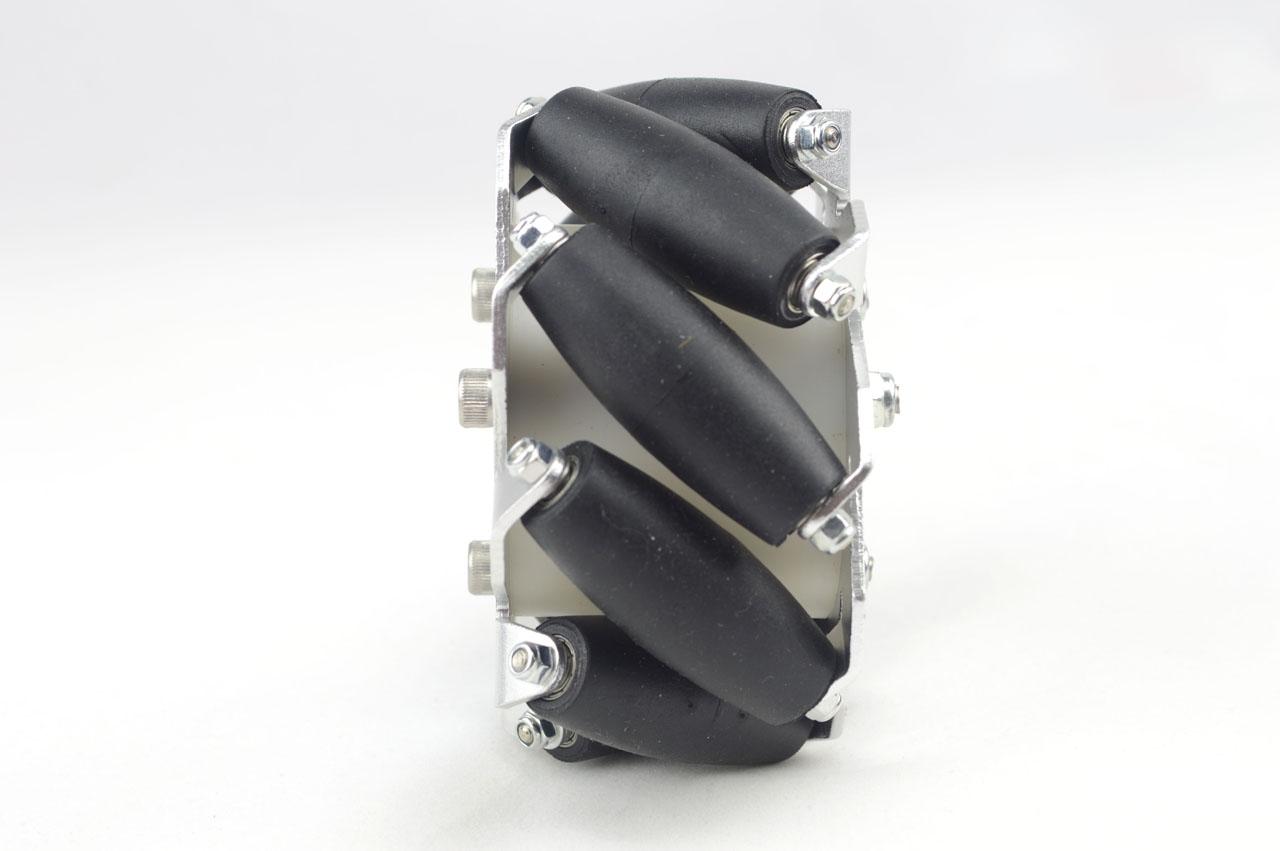 100mm Aluminium Mecanum wheels (Bearing type rollers) LEFT