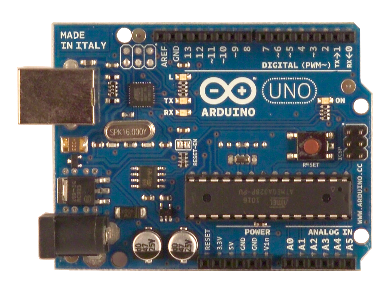 Arduino Uno R3 without cable
