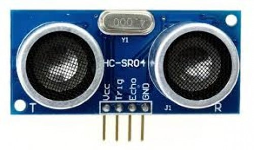 HC-SR04-Ultrasonic Range Finder