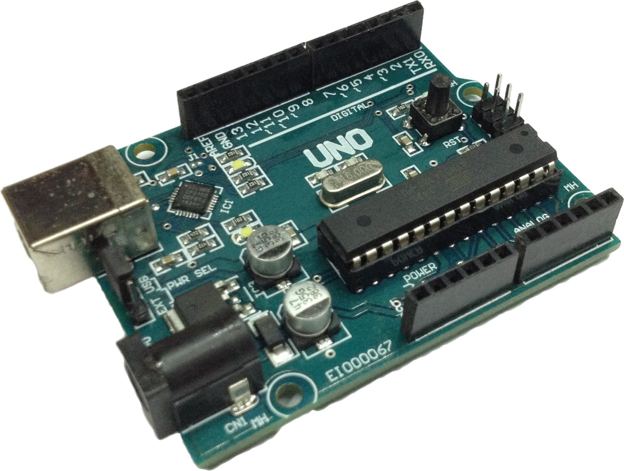 freeduino w data cable for arduino uno r3 robu in indian onlinefreeduino uno atmega 328 with usb cable original