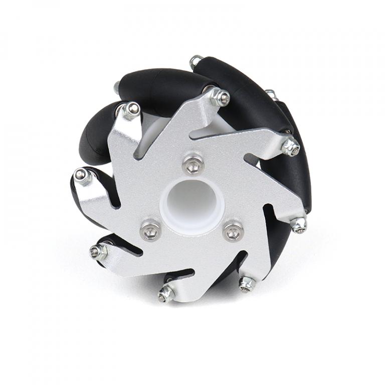 A set of 60mm Aluminium Mecanum Wheels Set( Bush Type)-4pcs