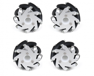 A set of 60mm Aluminium Mecanum Wheels Set( Bush Type)-4pcs