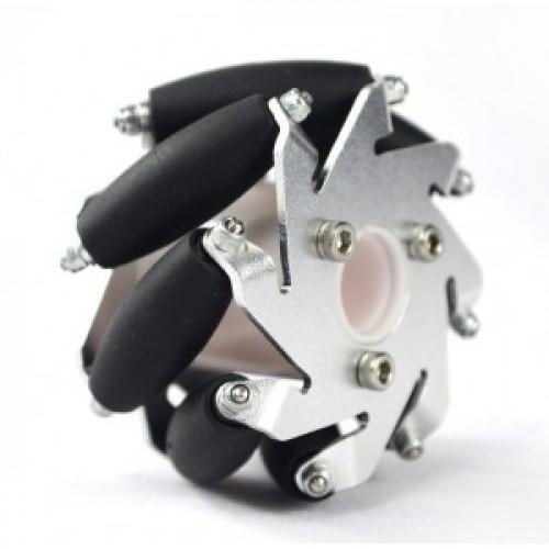 Mecanum (bearing type rollers)