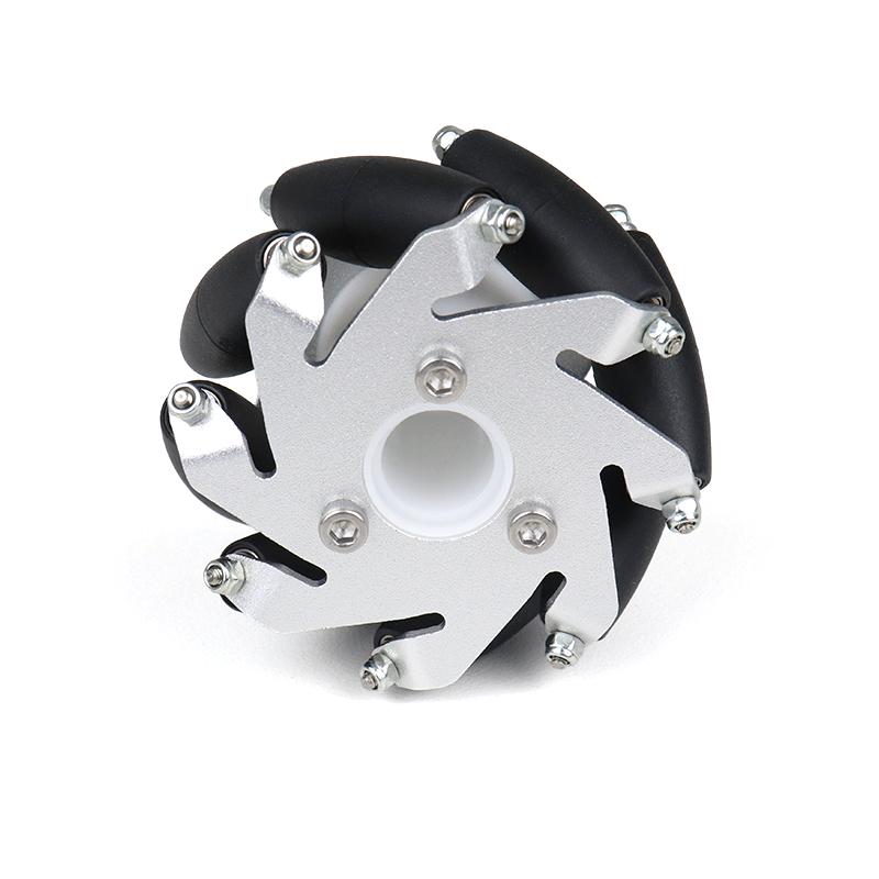 60MM ALUMINIUM MECANUM WHEELS SET( bearing type roller)-4pcs