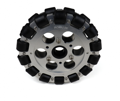 EasyMech 152mm Double Aluminium Omni Wheel (BEARING TYPE ROLLER)