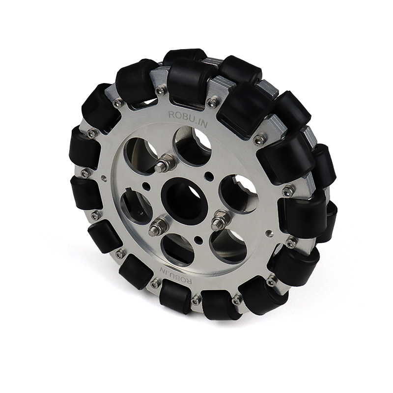 EasyMech 152mm Double Aluminium Omni Wheel (BEARING TYPE ROLLER)