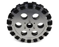 EasyMech 203mm Double Aluminium Omni Wheel (BEARING TYPE ROLLER)