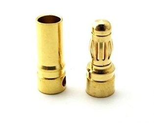 4mm Gold Connectors Male/Female