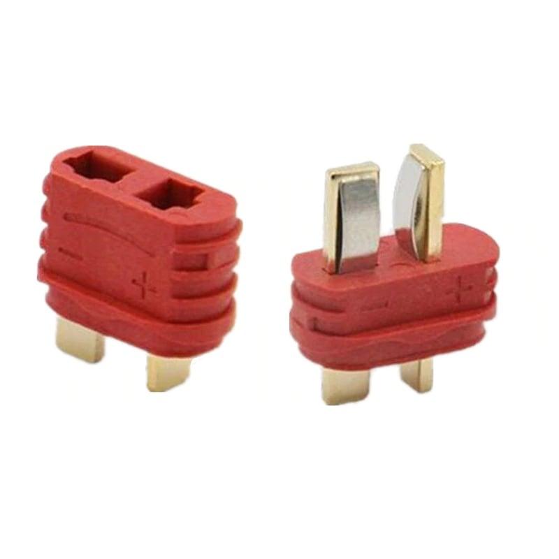 Nylon T-Connectors Male-Female Pair-2 Pcs.