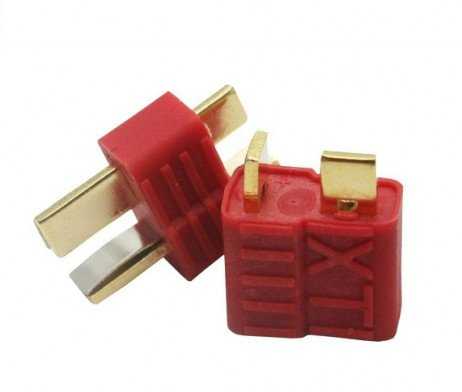 Nylon T-Connectors Male-Female Pair (2 pairs)