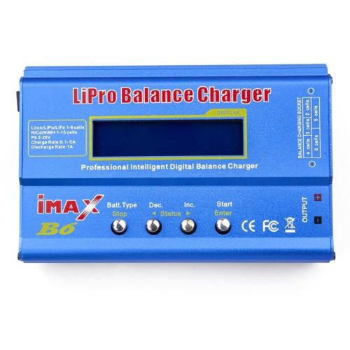 IMAX B6 80W 6A Charger/Discharger 1-6 Cells 1st copy