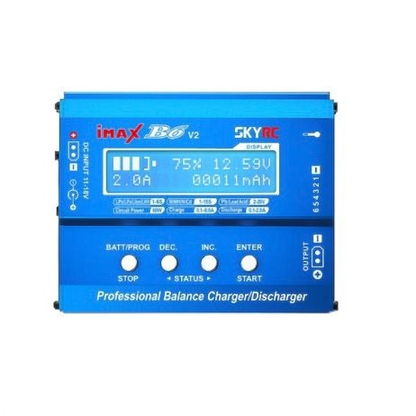SkyRC IMAX B6 V2 60W 6A Charger/Discharger 1-6 Cells (GENUINE)