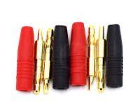 4MM Male Banana Plug / Charge Plug (solder type)-1 pair