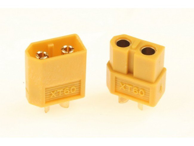 Nylon XT60 Connectors Male/Female (1 pairs) GENUINE