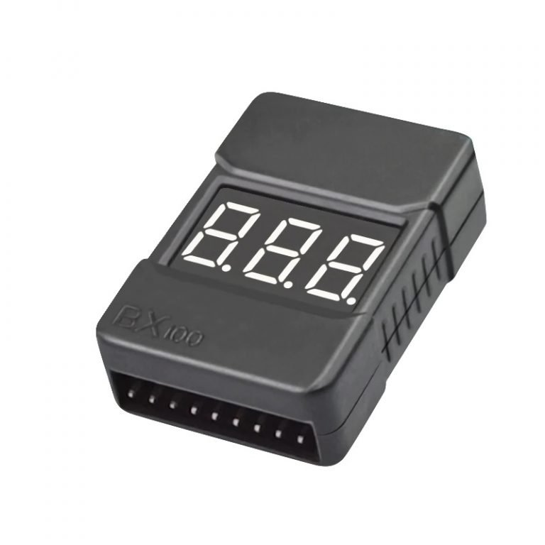Cell Checker with Low Voltage Alarm (2S-8S) with case-ROBU.IN