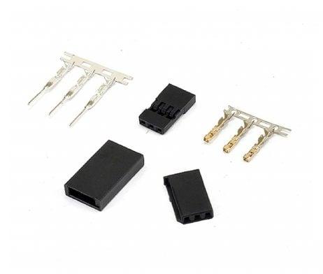 JST-SH Servo Plug Set (JR) Gold Plated-10Pcs.