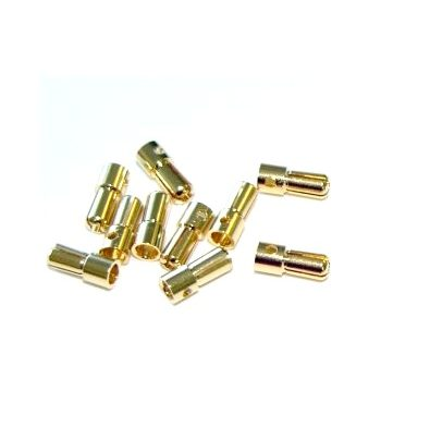 3.5mm Gold Compact Connector-1pair