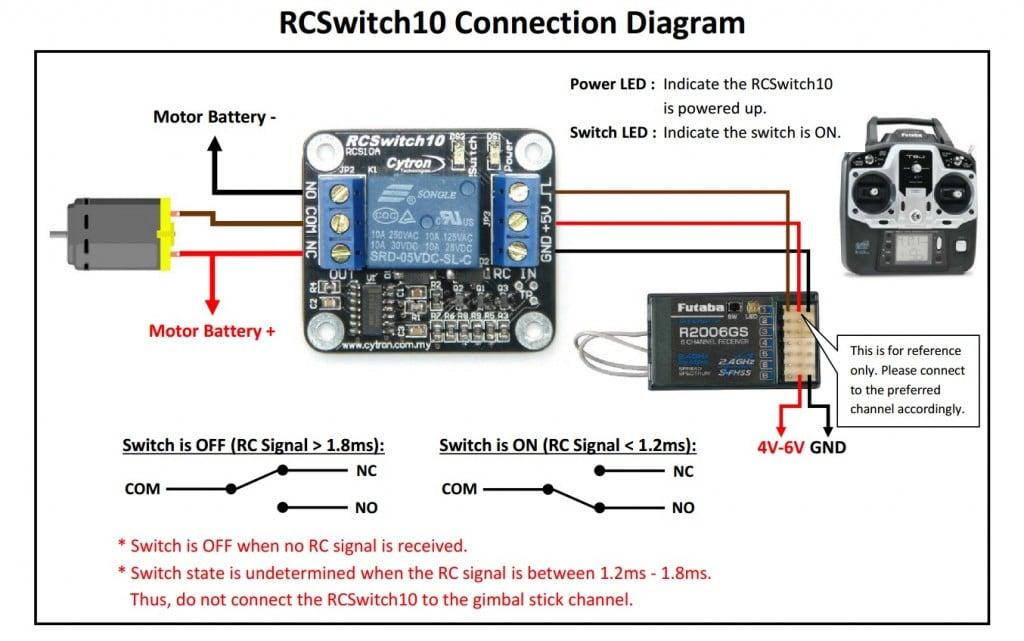 RCS10A - Connection Diagram