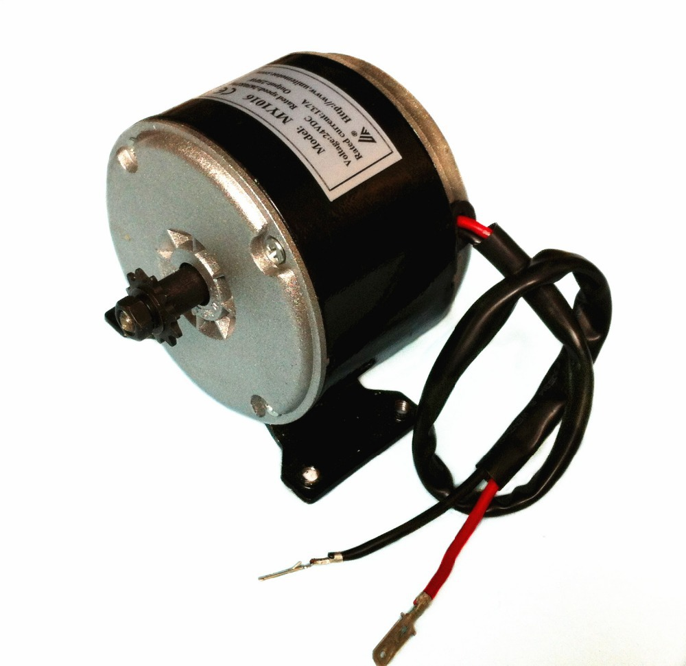 Ebike my1016 250w 24v 2650rpm dc motor indian for 24 volt servo motor