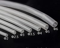Heat Shrink Sleeve 4mm Transparent 1meter Industrial Grade WOER (HST)