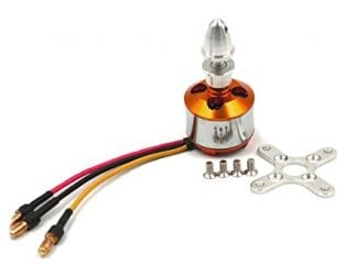 A2212/10T/13T 1000KV BRUSHLESS MOTOR WITH SOLDERED CONNECTOR