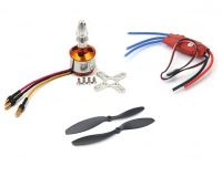 Set of 4 A2212 1400KV Brushless Motor for Drone with SimonK 30A ESC and 1045 Propeller Set