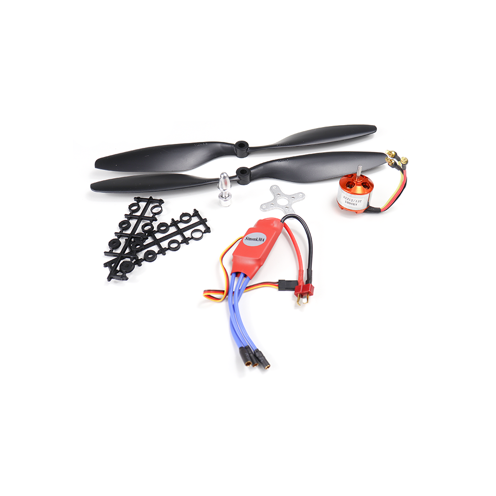 Set of 4 A2212 1000KV Brushless Motor for Drone with SimonK 30A ESC and  1045 Propeller Set