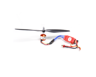 A2212 1000 KV BLDC Brushless DC Motor with SimonK 30A ESC and 1045 Propeller Set