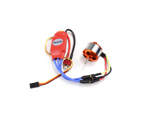 A2212 1000 KV BLDC Brushless DC Motor with SimonK 30A ESC - ROBU