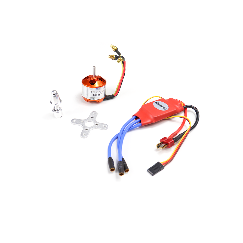 A2212 13T 1000KV Brushless Motor for Drone and SimonK 30A ESC