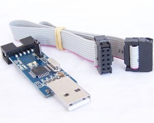 USB ASP AVR Programming Device for ATMEL processors