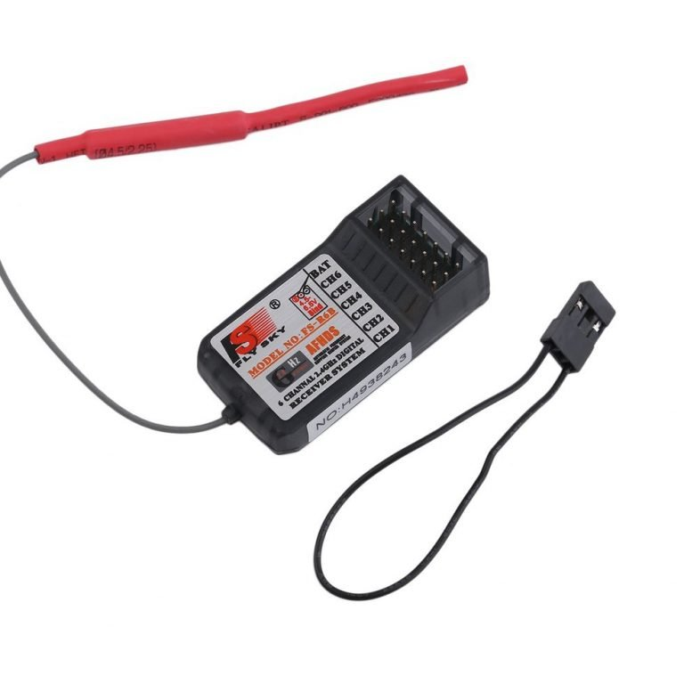CT6B FlySky 2.4Ghz 6CH Transmitter wFS-R6B Receiver Mode 2--Robu.in