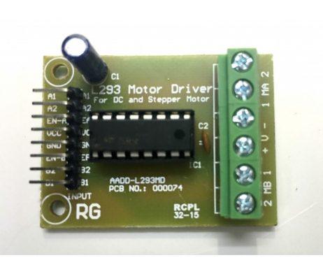 Motor Driver - L293D Driver Module