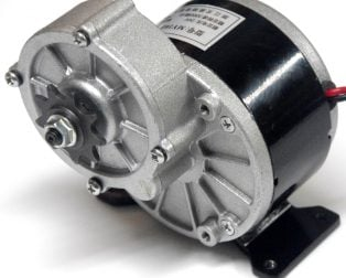 Ebike MY1016Z 250W 337rpm Geared DC motor (GB)
