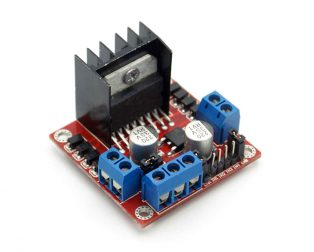 L298N Based Motor Driver Module - 2A (Standard Quality)