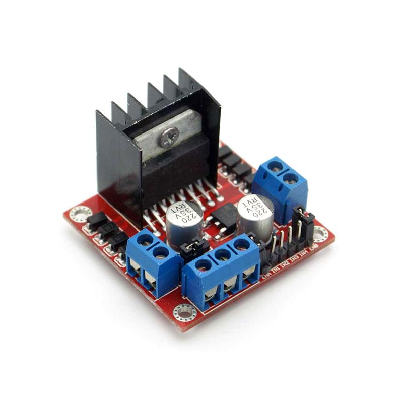 L298N DC Motor Driver Module Dual H Bridge DC Stepper Motor for Arduino PIC AVR