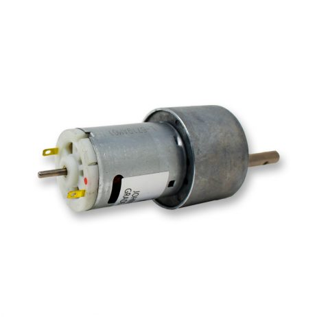 Orange 12V RPM Johnson Geared DC Motor – Grade A Quality-Encoder Compatible