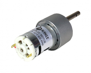 Orange 12V 600 RPM Johnson Geared DC Motor - Grade A Quality