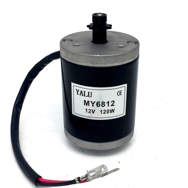 Ebike MY6812 120W 12V 3350RPM DC Motor - Robu in | Indian Online Store | RC  Hobby | Robotics