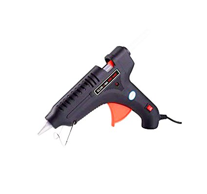 Standard Temperature 60Watt Hot Melt Glue Gun with On/Off Switch