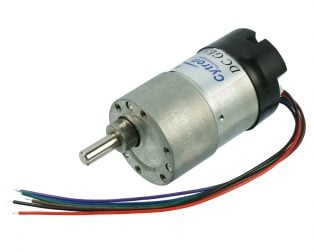 DC Geared Motor with Encoder