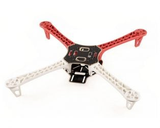 Q450 QUADCOPTER FRAME is a well thought out 450mm quad frame built from quality materials. The main frame is glass fiber while the arms are constructed of ultra-durable polyamide nylon.