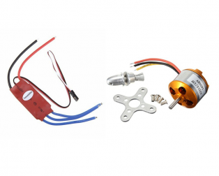 A2212 13T 1400KV Brushless Motor for Drone and SimonK 30A ESC