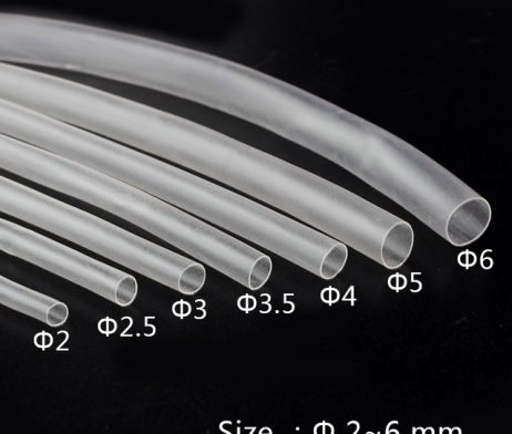 Heat Shrink Sleeve 10mm Transparent 1meter Industrial Grade WOER (HST)