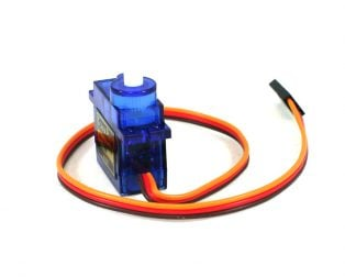Buy TowerPro SG90 9g Mini Servo 1.2kg 9 gram - 180 degree Rotation-Standard Quality