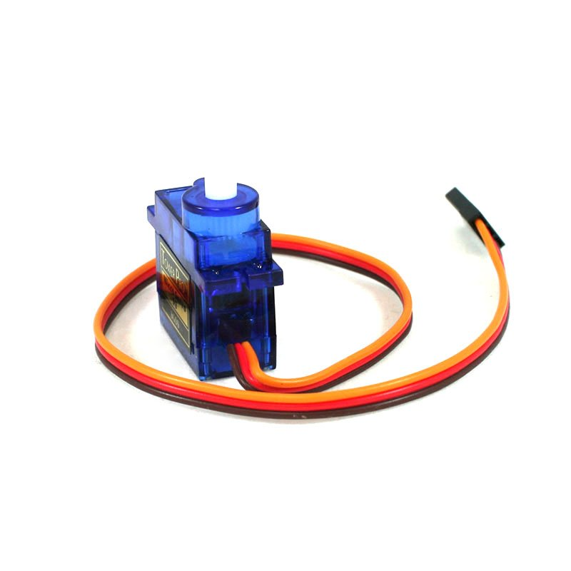 TowerPro SG90 9g Mini Servo 1 2kgCm - 180 degree Rotation-Standard Quality  (Copy)